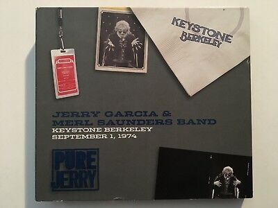 Pure Jerry 4 Jerry Garcia And Merl Saunders Band Keystone Berkeley 9/1/74 3-CD