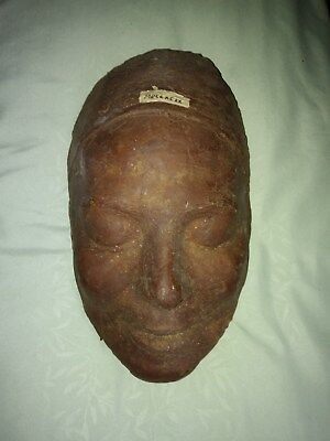 French Revolution (Circa 1799) Guillotined Victim's Death Mask..ODDITY!