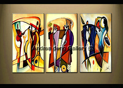 Large Modern Abstract Oil Painting on Canvas Contemporary Wall Art Framed A1429