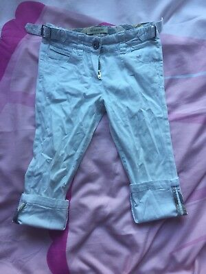Girls Burberry Trousers Age 3