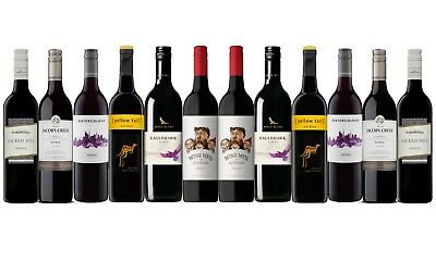 AU Best Seller Shiraz Varietal Mixed Wine Pack - 12 x 750ml FAST & FREE SHIPPING