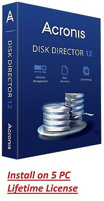 ✔Acronis Disk Director 12 ✔ Lifetime License ✔ Fast Delivery ✔ 5 PC ✔ Latest Ver