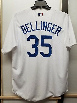 19340373e58 NWT Cody Bellinger Los Angeles Dodgers Majestic Cool Base Sewn Men s Jerseys
