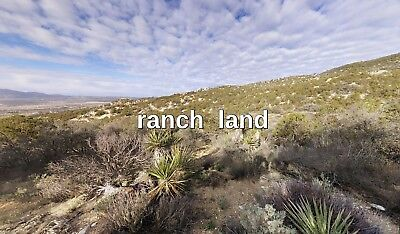 Owner Finance 20 acre CA land near Indio Palm Desert/Springs Coachella La Quinta