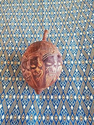Australian Aboriginal Authentic Hand Carved Kimberly's Boab Nut