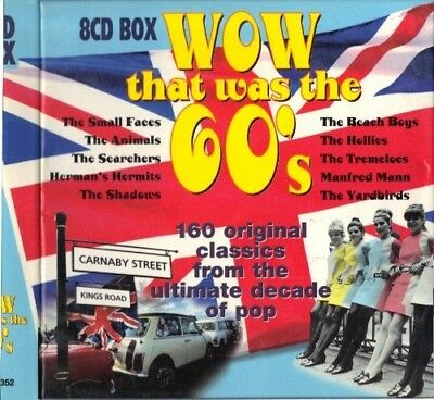 Wow That Was the 60s, Various, Very Good Box set, Import