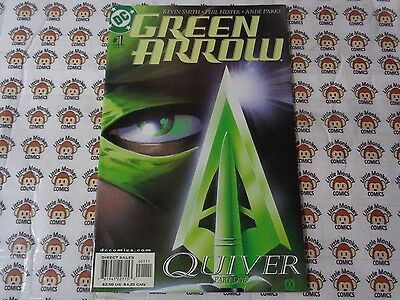 Green Arrow 1 Dc 42001 Quiver Part 1 Kevin Smith Phil Hester Nm