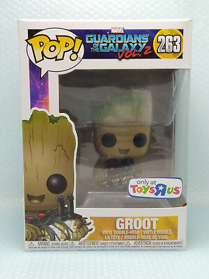 Funko Pop Marvel Groot (Near Mint) # 263 Guardians of the Galaxy V2 (Protector)
