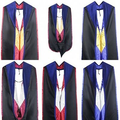 3cf34427e0 DELUXE DOCTORAL GRADUATION Gown With Gold Piping Royal Blue Velvet ...