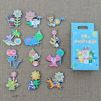 It's a Small World Pin Set 2019 Disney Parks Goodbye Mystery Collection OE