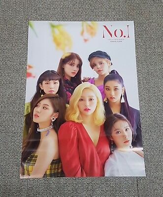 K-POP CLC 8th Mini Album - [No.1] OFFICIAL POSTER -NEW-