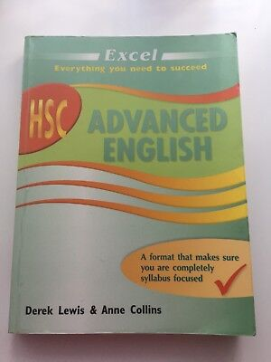 Excel HSC Advanced English - Year 12 by Anne Collins, Derek Lewis (2009)