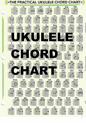 """Duck's Deluxe """"The Practical Ukulele Chord Chart"""" Job Lot Brand New Beginners"""