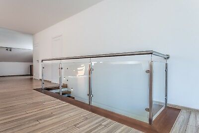Glass Balustrade stainless steel railings handrail