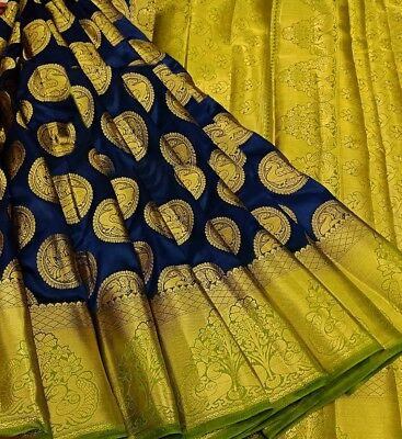 Indian Saree Fabric Moonga Tusser Silk Designer Party wear Trendy Cultural Sari