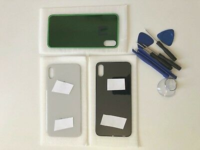 Rear Battery Glass Cover Housing Back Replacement For iPhone X With Tools