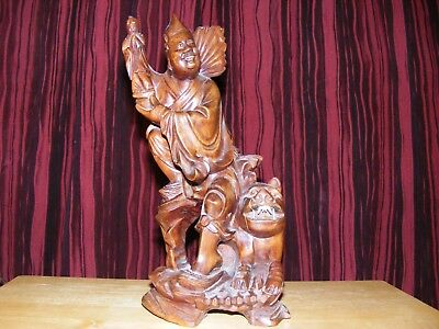chinese hardwood carving,vintage,good display.very rare.heavy item,well carved.