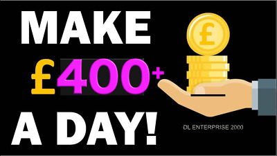 ££ Business For Sale | Passive Income Stream | With No Investment  | No Risk ££