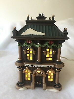 Dept 56 Dickens Village Blenham Street Bank Heritage Village Collection