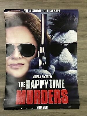 The Happytime Murders Movie Poster 27x40 Original Double Sided 2018