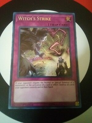 SAST-EN079 WITCH'S STRIKE – Secret Rare - 1st Edition Mint