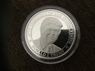 🇺🇸 45Th President Donald Trump 2020 Freedom Coin, 1-Oz.999 Silver