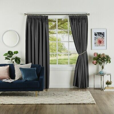 NEW Bella Collection Abbey Pencil Pleat Curtain By Spotlight