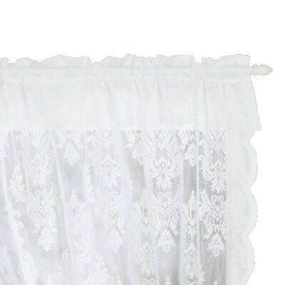 NEW Filigree Classique Crossover Lace Curtain By Spotlight
