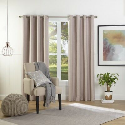NEW Gummerson Contempo Eyelet Curtain By Spotlight