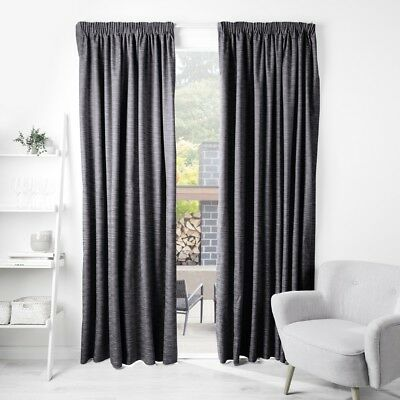 NEW Gummerson Lewis Pencil Pleat Curtain By Spotlight