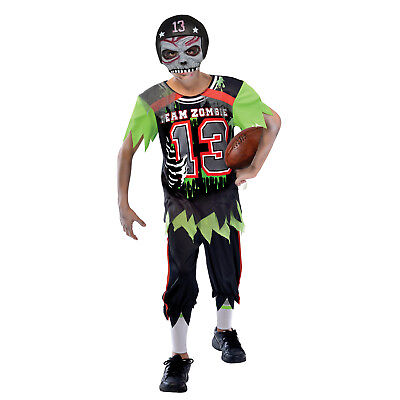 Amscan Zombie American Footballer Costume Age 12-14 Years