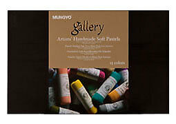 Mungyo Gallery Handmade Soft Pastel Set of 15 - Assorted Colors