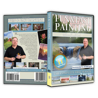 "Wilson Bickford - Video Art Lessons ""Fun and Fast Painting"" DVD"