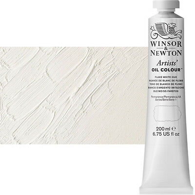 Winsor & Newton Artists' Oil Color 200 ml Tube - Flake White Hue