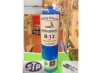 "R12, Refrigerant 12, Virgin Pure R-12, 28 oz. Disposable Can, 1/4"" Flare, #140"