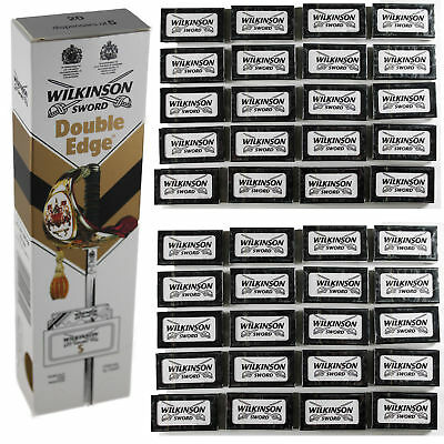 Wilkinson Sword Double Edge Razor Blades Barber Cut - 5,10,15,20,25,30,40,50,100