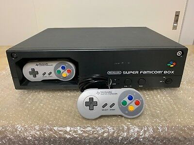 SUPER FAMICOM BOX console with 6 Games - Nintendo Super NES/SNES SHVC PSS-001