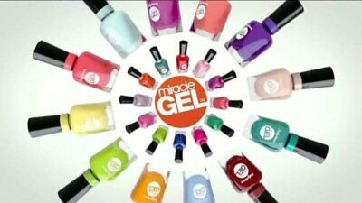 Sally Hansen Miracle Gel Nail Polish Color, Buy 2 Get 1 Free (ADD All 3 to Cart)