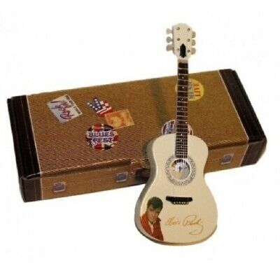 Elvis Presley Guitarra miniatura 13 cms Rock and Roll Atlas Editions