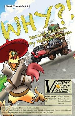 VPG Boardgame Why?! (2nd Edition) Box SW