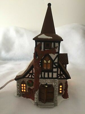 Dept 56 Dickens Village Old Michael Church Heritage Village Collection #55620