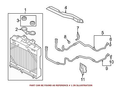 For BMW Genuine Engine Oil Cooler Cover 11427537294