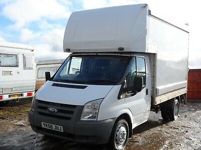 Transit 115 350 Mk7 Luton Van With Tail Lift Or Make A Tipper Delivery Available