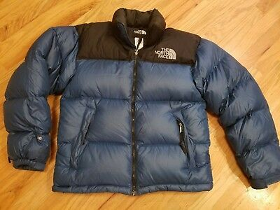 c2426d13a0 Vintage The North Face 700 Down Fill Puffer Coat Jacket Nupste Small Mens