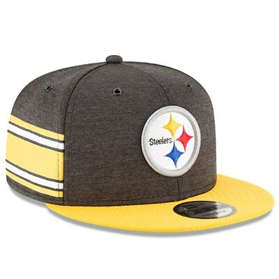739d5db32 Pittsburgh Steelers Nfl New Era 9Fifty Home On Field Sideline Snapback Hat   35