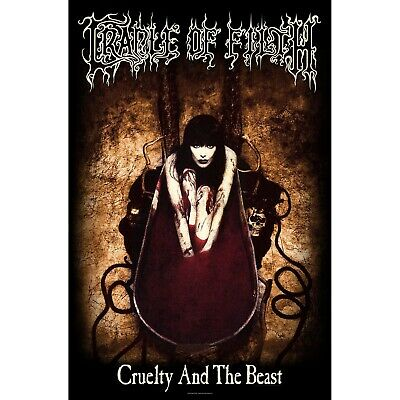 Cradle Of Filth Cruelty & The Beast Poster Flag Fabric Textile Wall Banner Offcl