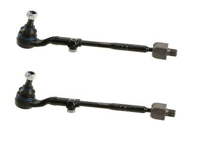 Pair Set 2 Front Steering Tie Rod End Assemblies Febi For VW EuroVan 1997-2003
