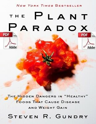 The Plant Paradox By Steven R Grundy *eBook/PDF*-Best Seller* 394 Pages
