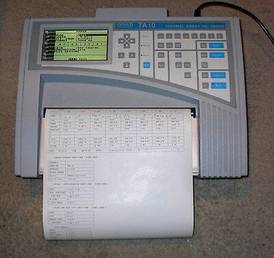 Portable Gould Strip Chart Recorder Data Acquisition Oscillograph TA-10 TA10