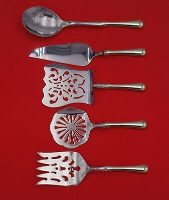 Old French by Gorham Sterling Silver Brunch Serving Set 5pc HH WS Custom Made